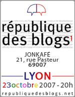République des Blogs 1ere Edition Lyonnaise
