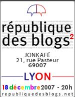 République des blogs à Lyon : 2eme édition